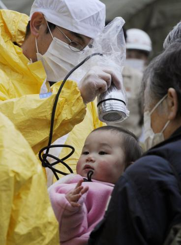 Kontrola radiace v Japonsku