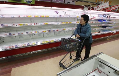Japonci vykoupili veškeré zásoby v obchodech