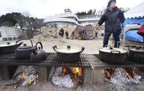 Život po zemětřesení v Japonsku