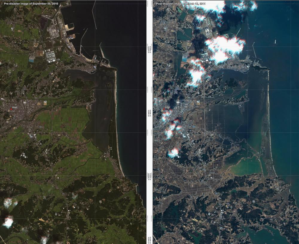 Tsunami nezvratně změnilo tvář Japonska