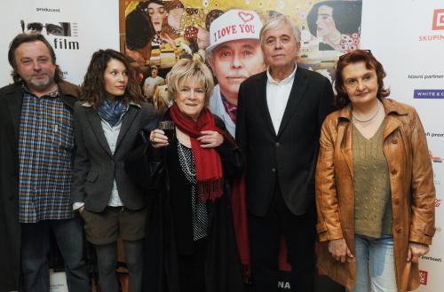 Herci a tvůrci filmu Odcházení