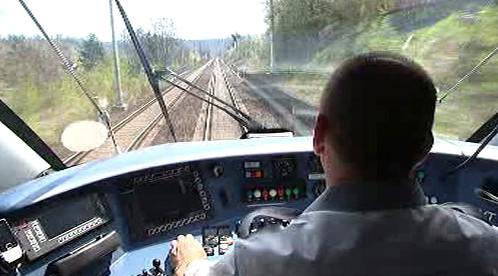 Jízda vlaku