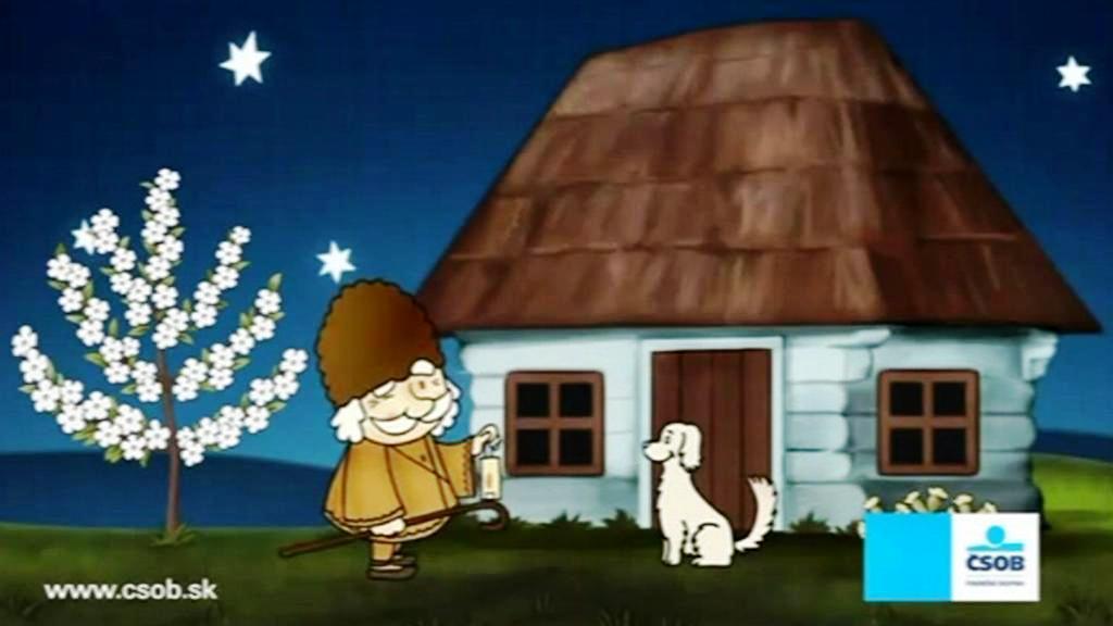 Slovenský večerníček v reklamě ČSOB