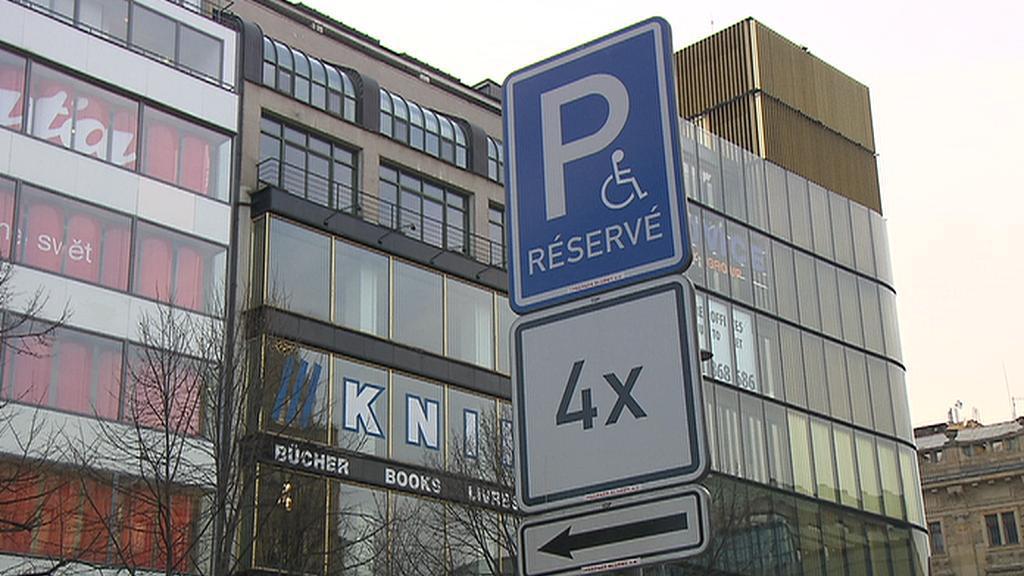 Místo pro invalidy
