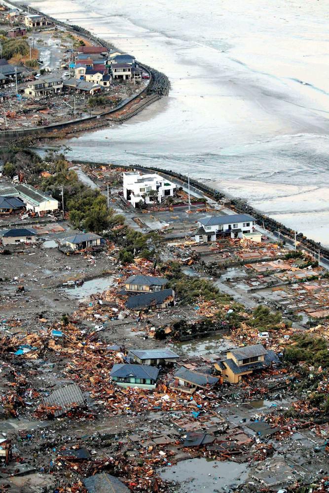 Následky zemětřesení a tsunami v Japonsku