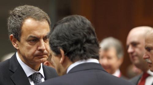 José Zapatero a José Manuel Barroso