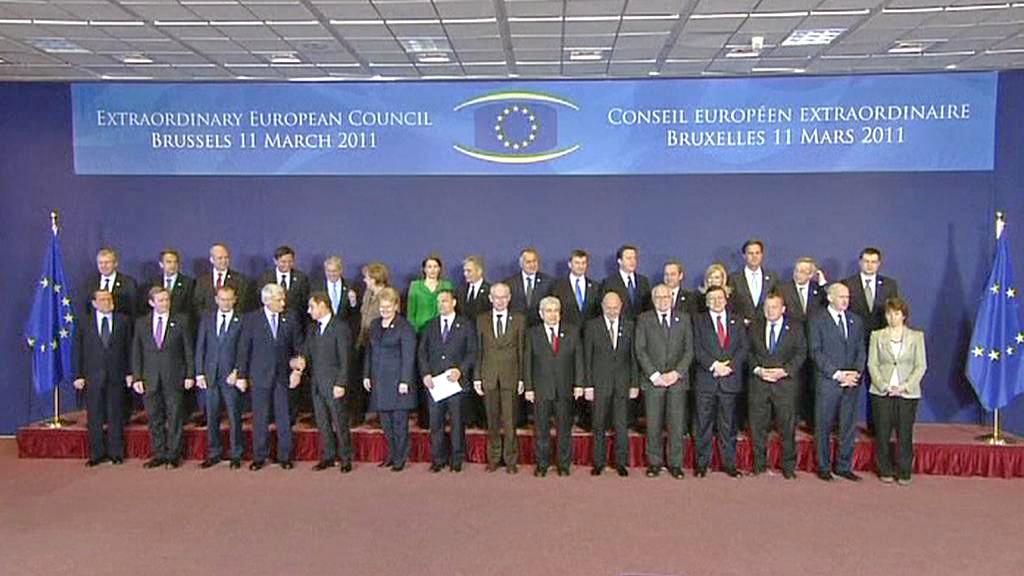Mimořádný summit EU k Libyi