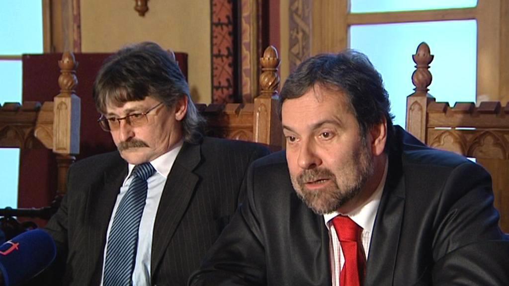 Radek John a Pavel Louda