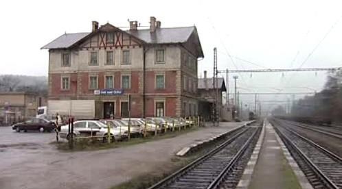 Staniční budova nádraží Ústí nad Orlicí