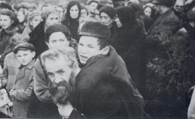 Židé z terezínského rodinného tábora