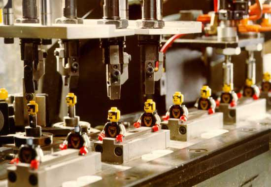 Továrna firmy Lego