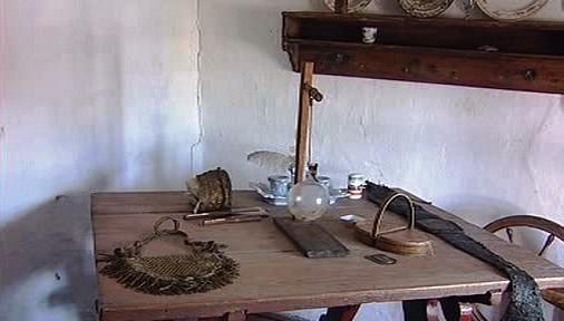 Interiér rodného domku K. J. Erbena