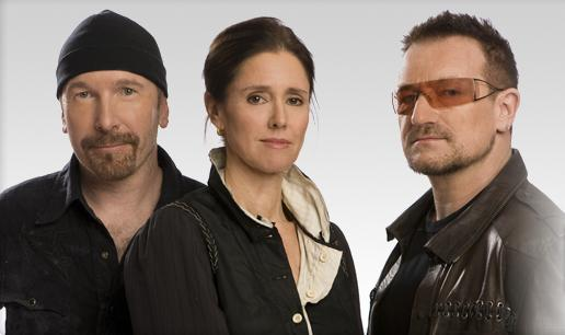 The Edge, Julie Taymorová a Bono Vox