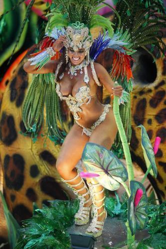 Brazilská taneční skupina Beija-Flor
