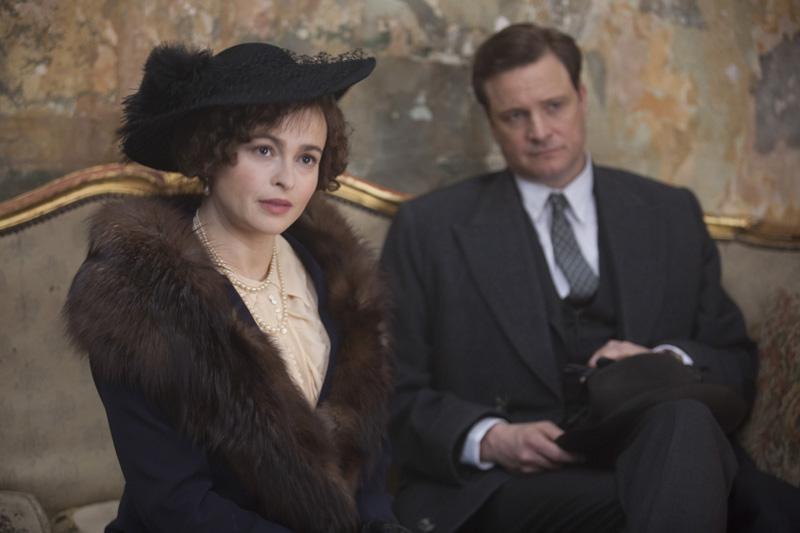 Králova řeč / Helena Bonham Carter a Colin Firth