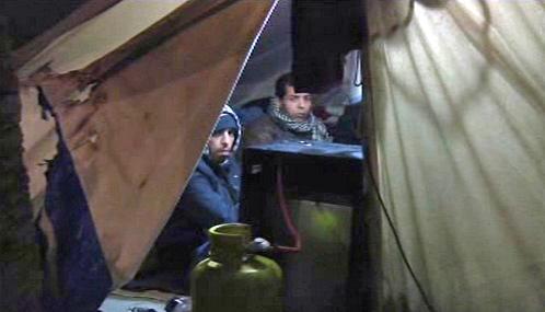 Nelegální imigranti drží v Řecku hladovku