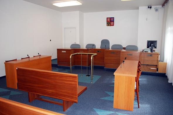 Jednací síň Nejvyššího soudu