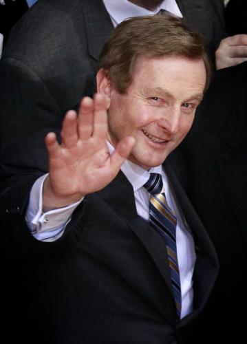 Irský premiér Enda Kenny