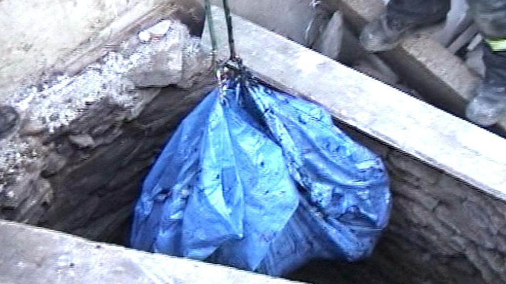 Ostatky nalezené ve studni
