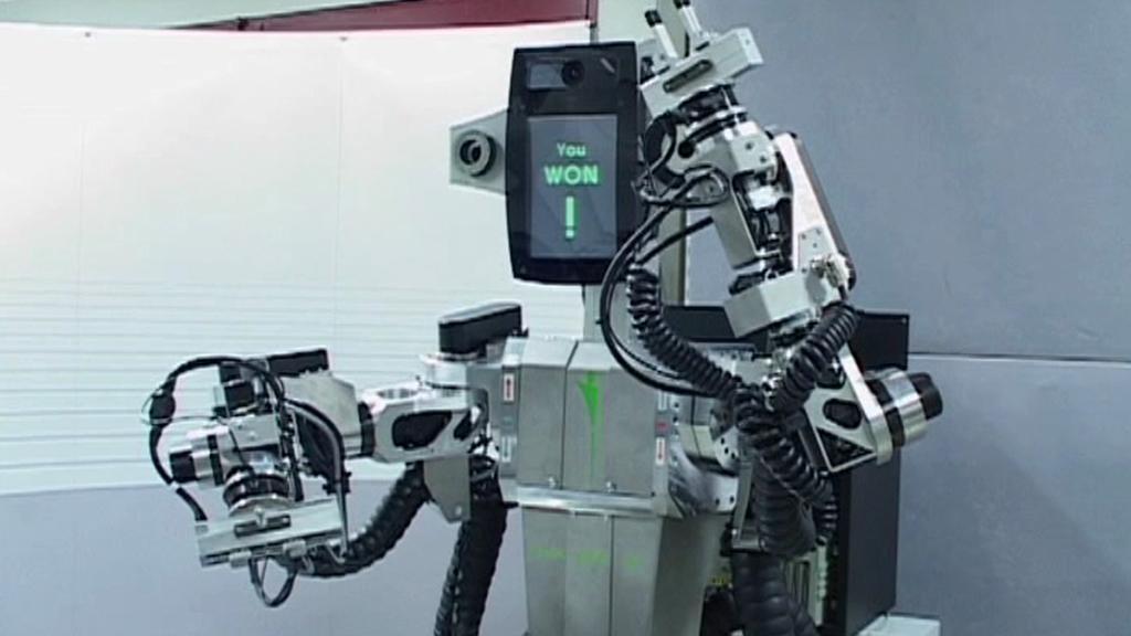 Pi4 Workbot se raduje
