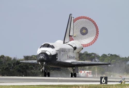 Poslední přistání raketoplánu Discovery