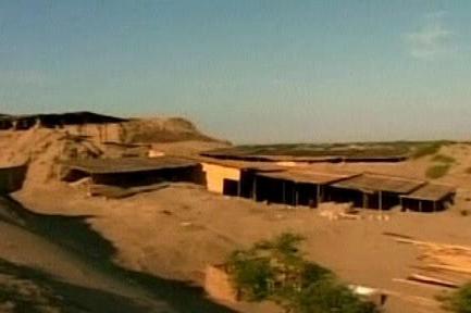 Vykopávky v Peru