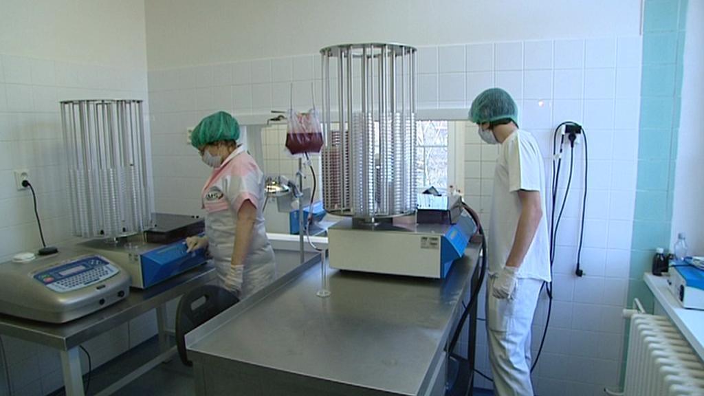 Laboratoř hradecké nemocnice