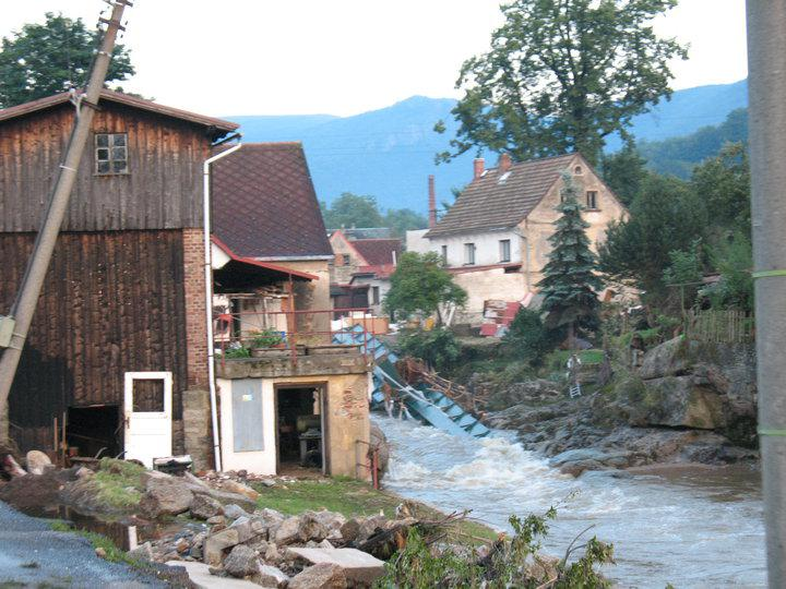 Záplavy - Raspenava