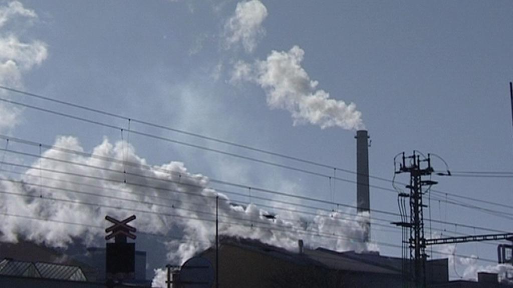 Kouřící komíny v Ústí nad Labem