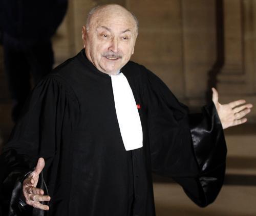 Chiracův advokát Georges Kiejman