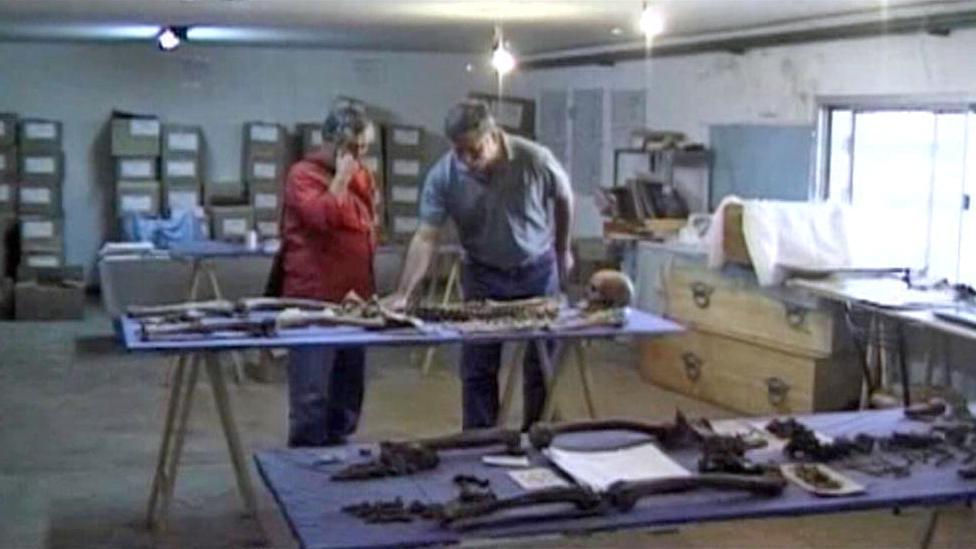 Argentinští forenzní antropologové