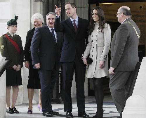 Princ William a Kate Middletonová na návštěvě v Severním Irsku