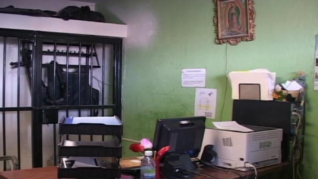 Opuštěná kancelář Marisol Vallesové