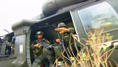 Kolumbijští vojáci