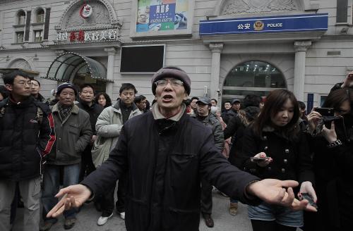 Nepokoje v Číně