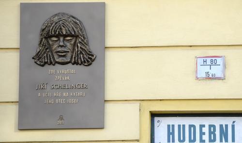 Pamětní deska Jiřího Schelingera