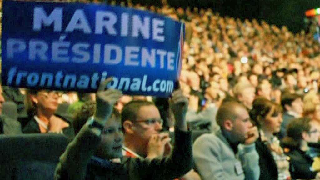 Příznivci Marine Le Penové