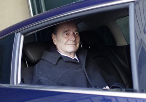 Bývalý fracouzský prezident Jacques Chirac