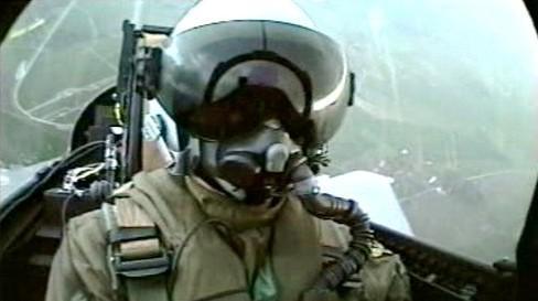 Pilot Gripenu