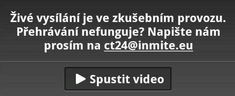 Vysílání ČT24 v mobilech s Androidem