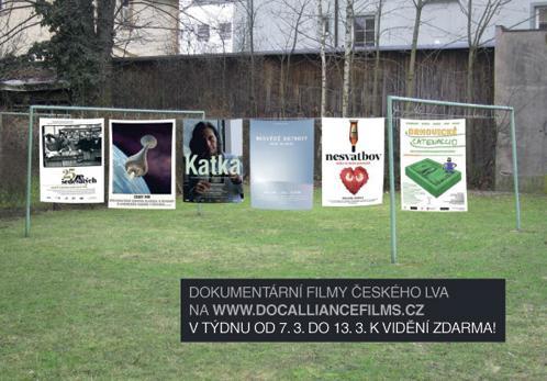 Dokumenty Českého lva na DocAllianceFilms.cz