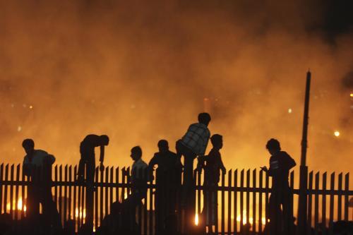Požár v Bombaji