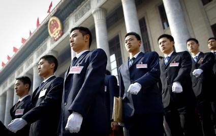 Bezpečnostní opatření výročního zasedání čínského parlamentu