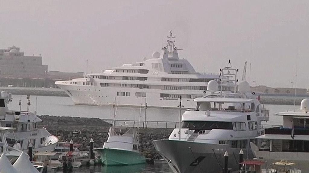 Jachty v Dubaji