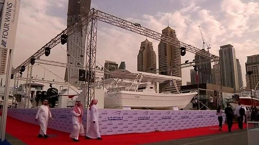 Výstava jachet v Dubaji