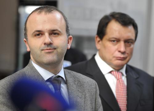 Radim Dolanský a Jiří Paroubek