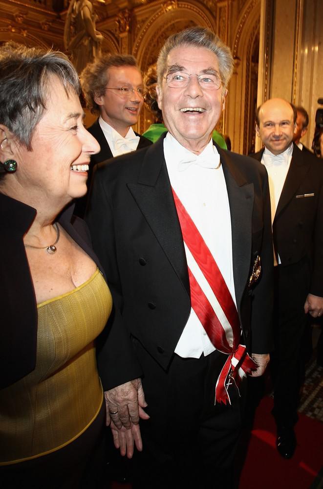 Rakouský prezident Heinz Fischer na tradičním vídeňském plese v opeře