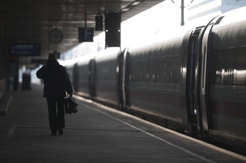 Stávka zastavila vlaky