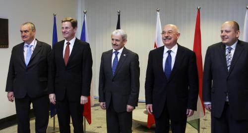 Ministři zahraničí V4 a Německa v Bratislavě