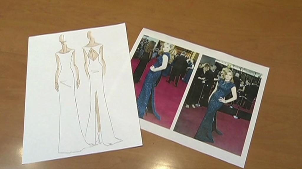 Návrhy na kopie oscarových šatů